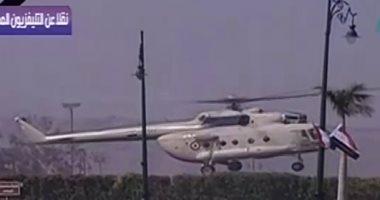 جثمان الرئيس الأسبق حسنى مبارك يصل مسجد المشير طنطاوى