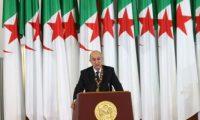 الرئيس الجزائرى: الحراك الشعبى يمثل إرادة الشعب التى لا تقهر