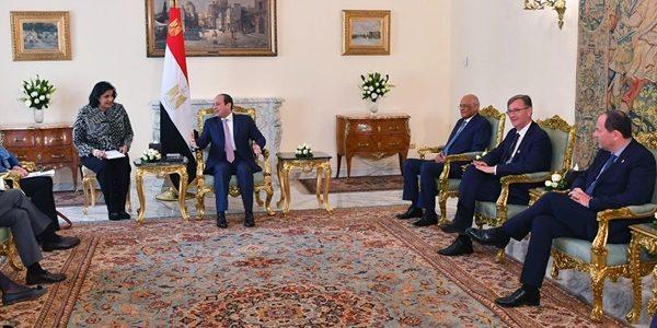 الشيوخ الفرنسي: مصر مركز الاستقرار بالمنطقة بفضل جهود السيسي