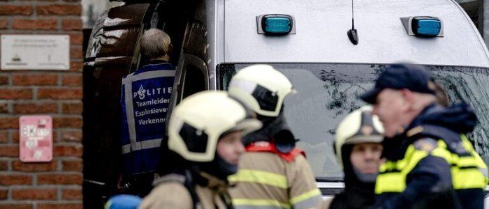 انفجار رسالة ملغومة داخل بنك في مدينة أمستردام الهولندية