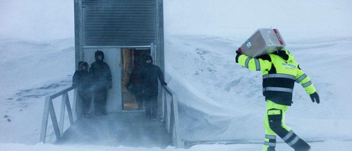 بناء قبو جديد يقاوم الماء لحفظ النباتات في القطب الشمالي