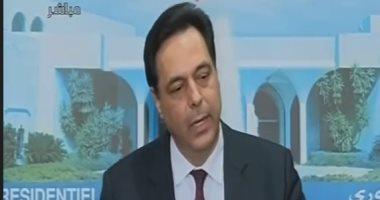 رئيس وزراء لبنان: نعيش وطأة الأزمات الاقتصادية وخطر فيروس كورونا