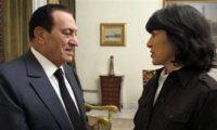 المذيعة الأمريكية كريستيان أمانبور تنشر صورتها مع مبارك فى آخر مقابلة معه