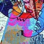 اللون وانعكاس الحرف تصورات جمالية لمفاهيم الواقع في تجربة بشير بشير