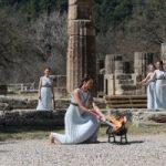 إيقاد شعلة أولمبياد طوكيو 2020 فى أولمبيا القديمة فى اليونان