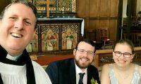 جهزا لزفافهما عاماً ونصف، لكن كورونا أفسد الخطة.. زواج يحضره 12 شخصاً وباقي الضيوف عبر بث مباشر