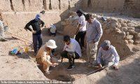 علماء آثار يكتشفون موقعاً أثرياً قديماً لإله الحرب في العراق عمره 5000 عام