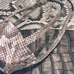 شركة أمريكية تثير الجدل بصناعة كمامات من جلود الثعابين