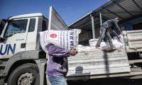 """""""الأونروا"""" تشرع بتوزيع مساعدات غذائية على 231 ألف أسرة فقيرة في غزة"""