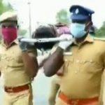 """""""رقصة التابوت"""" .. وسيلة جديدة من شرطة الهند لإبقاء الناس فى بيوتهم"""