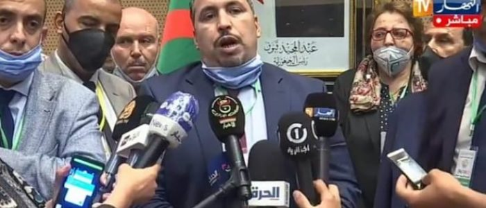"""الجزائر: جدل حول """"إصابة"""" الأمين الجديد لجبهة التحرير بكورونا"""
