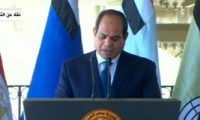 الرئيس السيسى يعزى حكومة وشعب لبنان جراء حادث انفجار بيروت