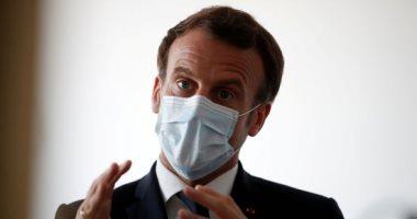 الرئيس الفرنسى إيمانويل ماكرون يزور موقع انفجار بيروت
