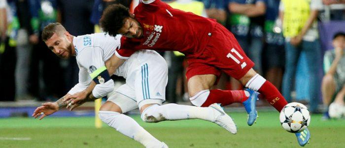 بسبب ما فعله راموس مع محمد صلاح.. لاعب إنجليزي رفض الانتقال إلى ريال مدريد
