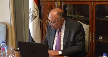 شكرى يوجه خطابا إلى رئيس مجلس الأمن بشأن أزمة سد النهضة الاثيوبى