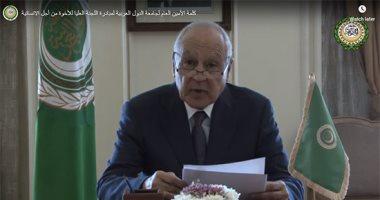 أحمد أبو الغيط: مخطط الضم الإسرائيلى لأراضى الضفة سيدمر آمال السلام