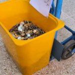 مغربي يدفع غرامة 10 آلاف درهم بقطع معدنية من فئتي درهم و50 سنتيما