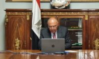 شكرى: تركيا تخرق قواعد الشرعية الدولية بالحديث عن عمل عسكرى مباشر فى ليبيا