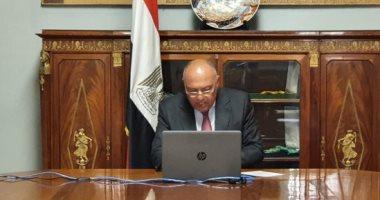 سامح شكرى يدعو الدول العربية إلى سياسة موحدة لردع تركيا وممارساتها بالمنطقة