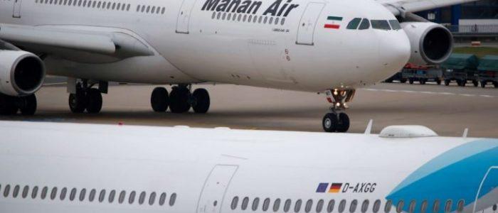 هبوط طائرة ركاب إيرانية في بيروت بعد مضايقتها من قبل مقاتلات إسرائيلية في الأجواء السورية
