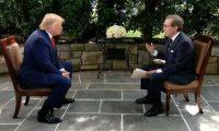 """جدل بين ترامب وصحافي من """"فوكس نيوز"""" على خلفية مزاعم حول بايدن"""