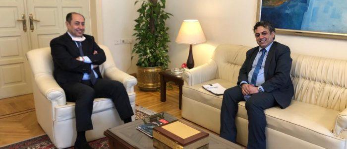 خلال لقائه الأمين العام المساعد.. ممثل سوريا الديمقراطية يؤكد على دور الجامعة العربية في ظل التهديدات التركية