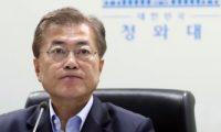 رئيس كوريا الجنوبية يحث على اتخاذ كافة التدابير للتعافى من أضرار الفيضانات