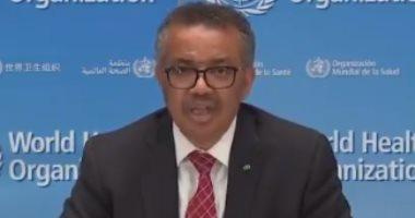 مدير الصحة العالمية: ارتداء الأقنعة وحدها لن يوقف عدوى فيروس كورونا