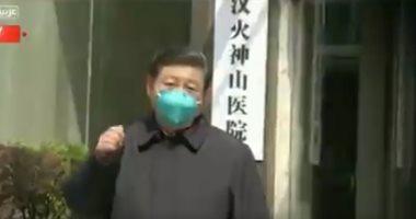الرئيس الصينى يوقع أمرا بتكريم 4 أشخاص لمساهمتهم البارزة فى مكافحة كورونا