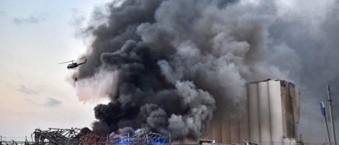 النيابة العامة اللبنانية تستجوب مسئولين بأجهزة أمنية فى حادث انفجار بيروت