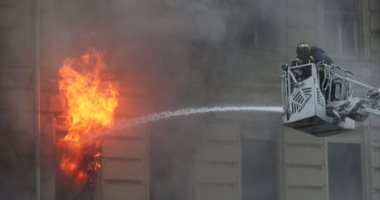 حريق محدود فى جامعة الإسكندرية بسبب ماس كهربائى