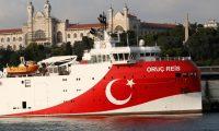 """تركيا تتجاهل تحذيرات اليونان وتواصل توسيع عمليات التنقيب.. سفينة """"أوروتش رئيس"""" تبدأ عملها شرق المتوسط"""