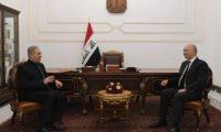 الرئيس العراقى يؤكد أهمية مواصلة الجهد الأمني في ملاحقة خلايا داعش