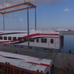 عربات سكة حديد جديدة تصل ميناء الإسكندرية