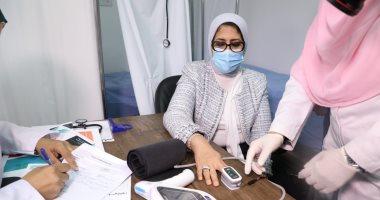 وزيرة الصحة: تجارب لقاح كورونا تمت على 40 ألفا ولم تظهر عليهم أعراض جانبية
