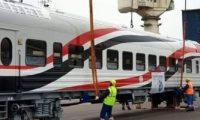 نقل الدفعة الـ7 من العربات الروسية الجديدة من ميناء الإسكندرية لورش القاهرة