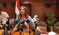 وزيرة الهجرة تترأس غرفة عمليات الوزراة لمتابعة انتخابات البرلمان للمصريين بالخارج