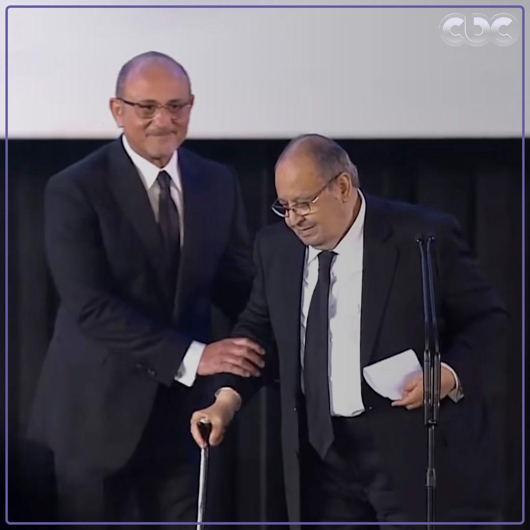تكريم وحيد حامد في مهرجان القاهرة السينمائي الدولي السابق لدورته ال42.